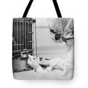 Space: Squirrel Monkey, 1985 Tote Bag
