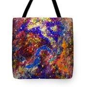 Space Stars Tote Bag