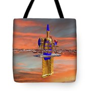 Space Station 3 Tote Bag
