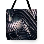 Space Time Location Tote Bag