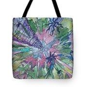 Space Tornado Tote Bag