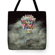 Space Travel Tote Bag