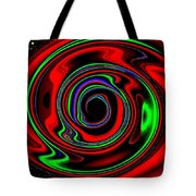 Space Twister Tote Bag