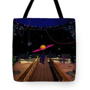 Space Voyagers Tote Bag