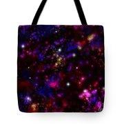 Space Walk Fantasy Tote Bag