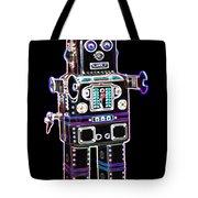 Spaceman Robot Tote Bag