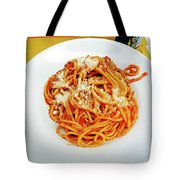 Spaghetti Bolognese Tote Bag