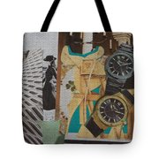 Spain Collage Tote Bag