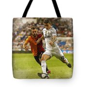Spain Soccer Bernabeu Trophy Tote Bag