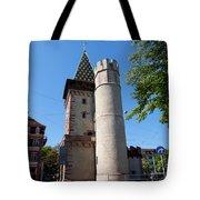 Spalentor In Basel Switzerland Tote Bag