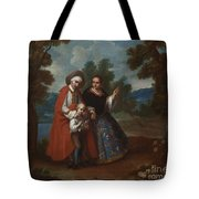 Spaniard And Morsica Tote Bag