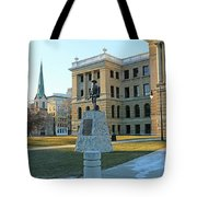 Spanish American War Memorial At Lucas County Courthouse 0098 Tote Bag