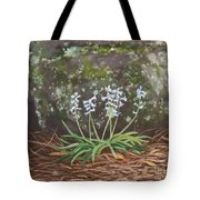 Spanish Bluebells Tote Bag