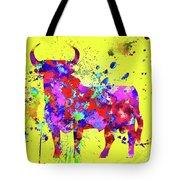 Spanish Bull  Toro Bravo Tote Bag