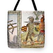Spanish Conquest, 1520 Tote Bag