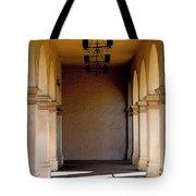 Spanish Corridor Tote Bag