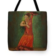 Spanish Dancer 2 Tote Bag