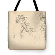 Spanish Dancers Tote Bag