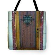 Spanish Door Tote Bag