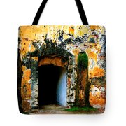 Spanish Fort Doorway Tote Bag