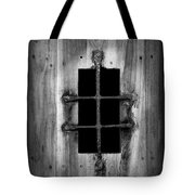 Spanish Fort Window Tote Bag
