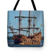 Spanish Galleon Tote Bag