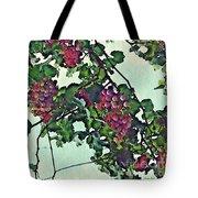 Spanish Grapes Tote Bag by Sarah Loft