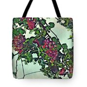 Spanish Grapes Tote Bag