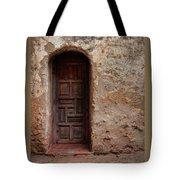 Spanish Mission Doorway Tote Bag