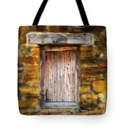 Spanish Mission Window Tote Bag