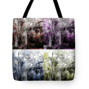Spanish Moss Beauty Of Color Tote Bag