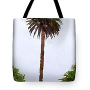 Spanish Palm Tree Tote Bag