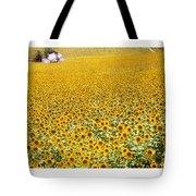 Spanish Sunflowers Tote Bag