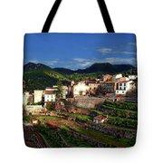 Spanish Terraces Tote Bag