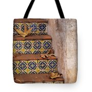 Spanish Tile Stair  Tote Bag
