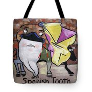 Spanish Tooth Tote Bag