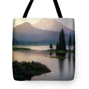 Spark Of Light Tote Bag