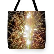 Spark Of The Fountain Tote Bag