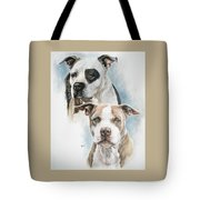 Sparkle And Buster Tote Bag