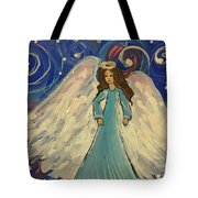 Sparkle Angel Tote Bag