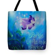 Sparkle, Little One Tote Bag