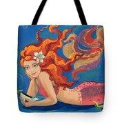 Sparkle Mermaid Tote Bag