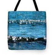 Sparkle Waves  Tote Bag