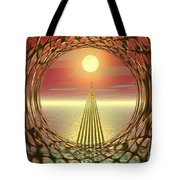 Sparkles Of Light Tote Bag