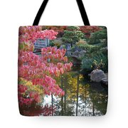 Sparkling Autumn Reflection Tote Bag