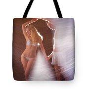 Sparkling Dance Tote Bag