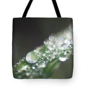 Sparkling Dew Tote Bag