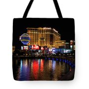 Sparkling Las Vegas Neon - Planet Hollywood Tote Bag