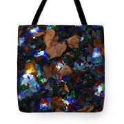 Sparkling Leaves Tote Bag