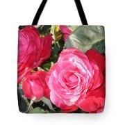 Sparkling Roses Tote Bag
